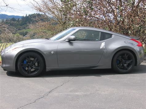 nissan 370z blacked out black wheels thread page 11 my350z com forums