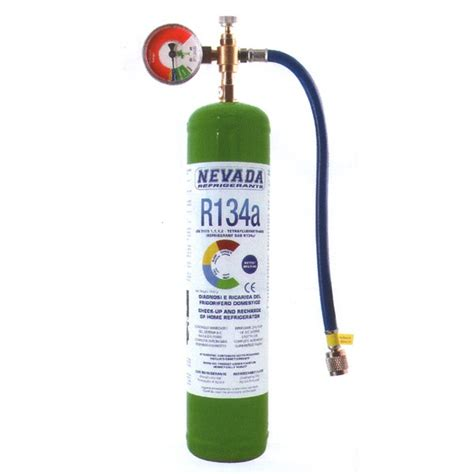 Freon Ac Samsung r134a r134 refrigerant gas refrigerator recharge kit 1 kg