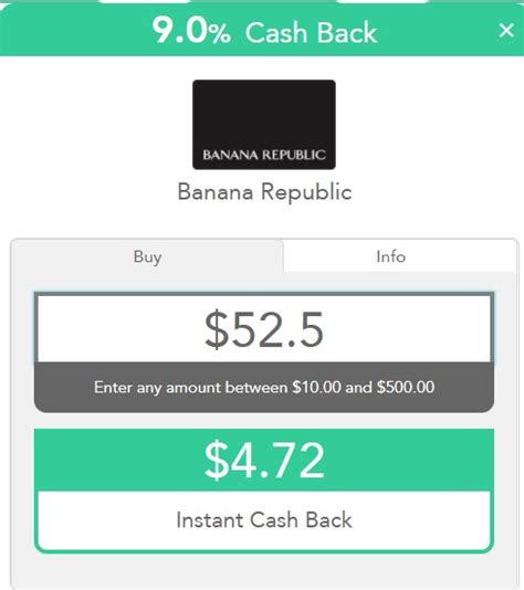Can You Use Banana Republic Gift Card At Outlet - expired 5 bonus on amex gift card cashouts at topcashback frequent miler