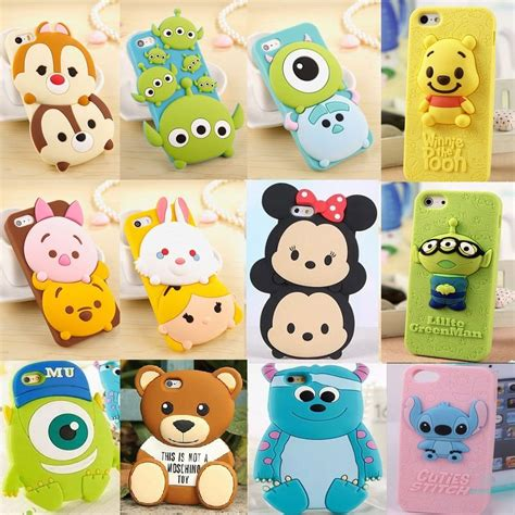 4d Stitch Xiaomi Redmi 2 Karakter Soft Silikon 3d new 3d disney silicone rubber soft for