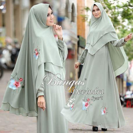 Gamis Syar I Pop High Quality Ready 4 Warna baju muslim bungas terbaru pusat grosir baju muslim