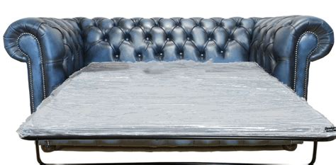 Chesterfield Sofa Bed Sale Chesterfield 2 Seater Sofabed Settee Antique Blue