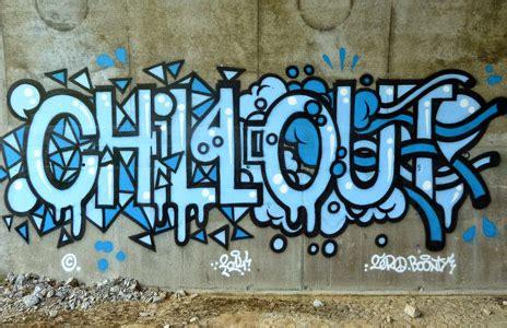 chill out graffiti wallpaper monsieur zero graffiti street art