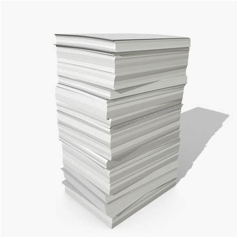That Paper - 3d paper stack model studios