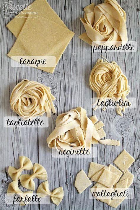 tipi di pasta fatta in casa pasta all uovo fatta in casa ricette della nonna