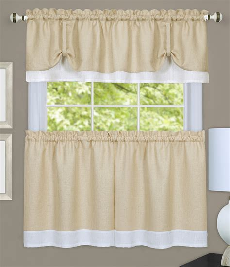 Kitchen Curtains Swags Darcy Kitchen Curtains White Tiers Swags