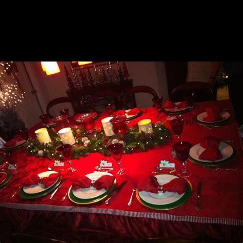images of christmas eve dinner christmas eve dinner table christmas winter pinterest