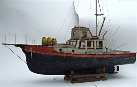 jaws boat for sale jaws orca wooden model boat wood lobster fishing trawler