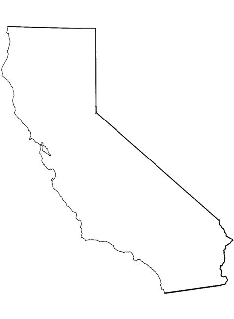 california map line drawing carumbas may 2010