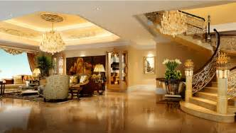 Home Design 3d Gold Stairs villa living room stairwell chandeliers luxury