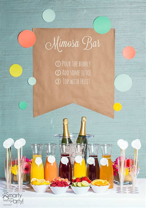 mimosa bar on pinterest bridal brunch shower bubbly bar and chagne brunch