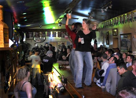 bar top dancing portland s welcome vibe the boston globe
