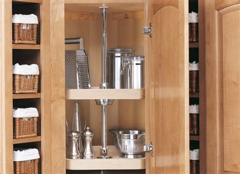 Lazy Susan Cabinet Kitchen Storage Solutions 7 Easy Storage Solutions For Kitchen Cabinets