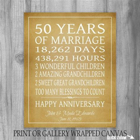 50 years anniversary golden the 25 best golden anniversary gifts ideas on pinterest