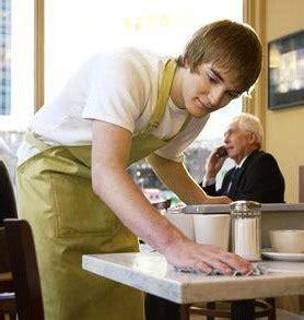 Dining Room Servers Busser Or Busboy Definition Salary Job Description