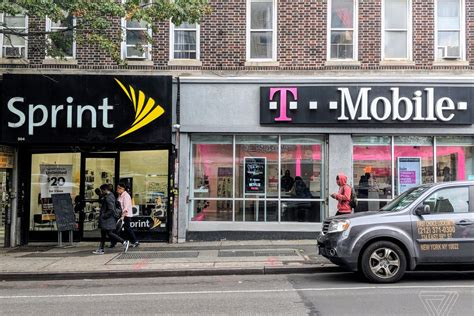 nasdaq mobile t mobile inc nasdaq tmus and sprint corp nyse s vow to