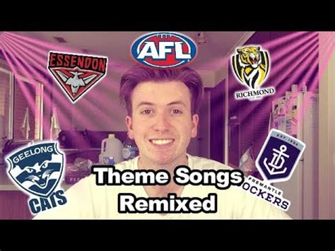 theme songs afl afl theme songs remixed youtube