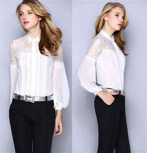 aliexpress buy lace embroidery blouse for