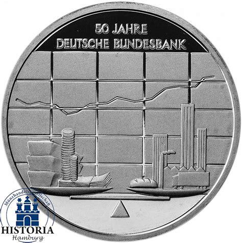deutsche bundes bank deutschland 10 deutsche bundesbank 2007 silber gedenk