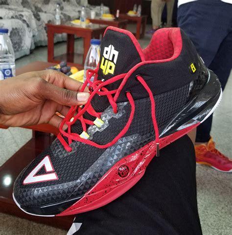 New Arrival Peak Dwight Howard 1st Basketball Shoes Black Sepatu dwight howard peak dh2 signature shoe sneakernews
