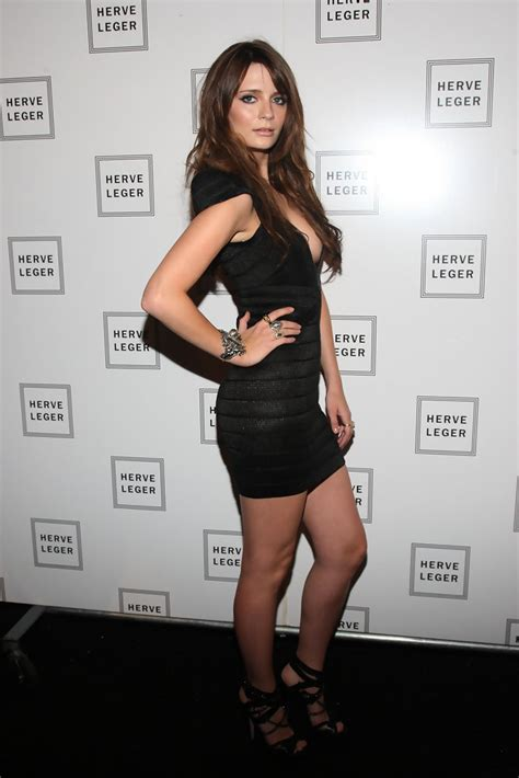 Style Mischa Barton Fabsugar Want Need 6 by Mischa Barton In Herve Leger Backstage 2010