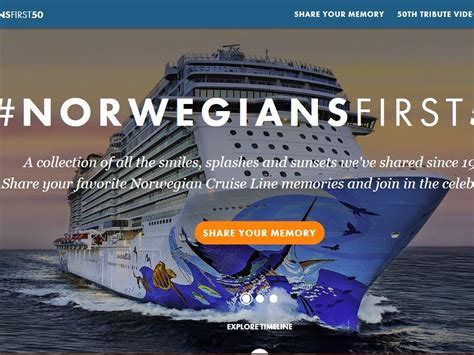 Ncl Gift Card - norwegian cruise line 50th anniversary sweepstakes sweepstakes fanatics