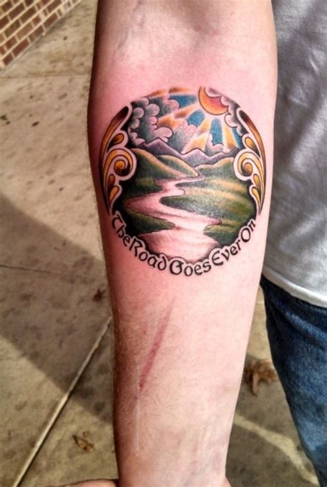 hobbit tattoo 17 best images about tolkien tattoos on lotr