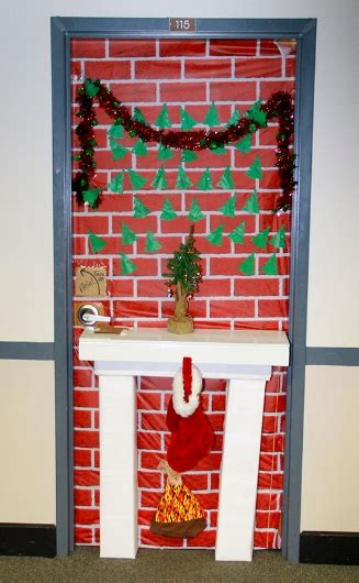 christmas doors at school blue jays transform ordinary classroom doors into works of yuletide jesuit high school of