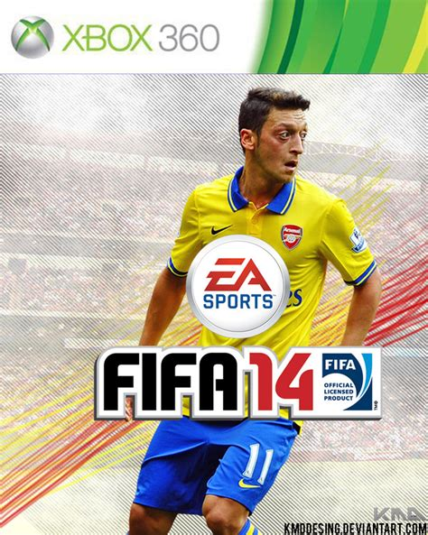 ozil hairstyle fifa 14 mesut ozil fifa 14 cover by kmddesing on deviantart