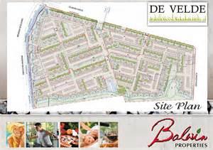 Easy Floor Plan site plan and floor plans de velde luxury estate