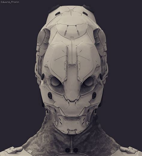helmet design zbrush 606 best androids cyborgs sci fi images on pinterest