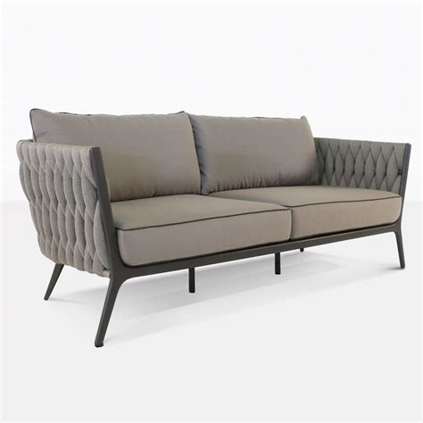 Porch Sofa by Outdoor Rope Sofa Seating Patio Couches