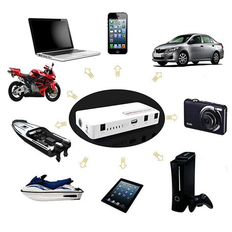 Multifunction Led Torch Power Bank 2000mah With F Diskon 12v portable multifunction auto car jump starter power