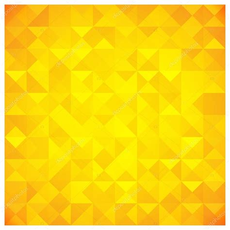 triangle pattern yellow triangle and square yellow abstract pattern stock vector
