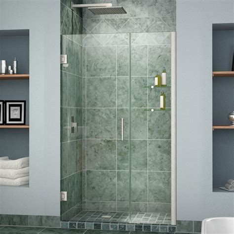 Dreamline Unidoor 42 To 43 In X 72 In Semi Framed Hinged 43 Inch Shower Door