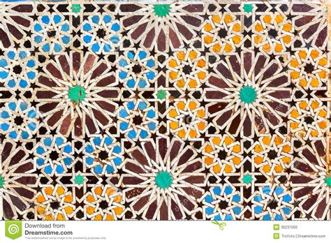 Interior Design Web App moroccan mosaic stock photo image 35237000