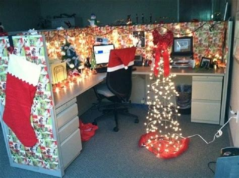 christmas decoration in an office setting decoration ideas for office that everyone will