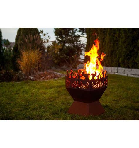 edelrost feuerkorb quot feuerzauber quot rost vom metallmichl - Rostige Feuerschale