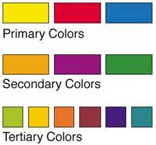 primary colors list color theory