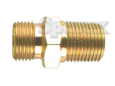 Hydraulic Adaptor s 3033 hydraulic adaptor 3 8 quot bsp 3 8 quot bspt uk