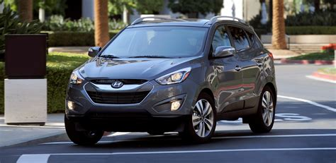 hyundai crossover 2015 2015 hyundai tucson is trendy crossover with loaded