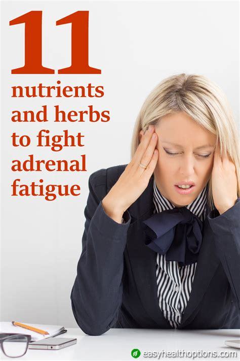 Gentle Detox For Adrenal Fatigue by 11 Nutrients And Herbs To Fight Adrenal Fatigue Easy