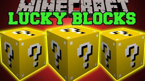 minecraft lucky block mod game online lucky block mod for minecraft 1 9 4 1 9 2 1 9 minecraft
