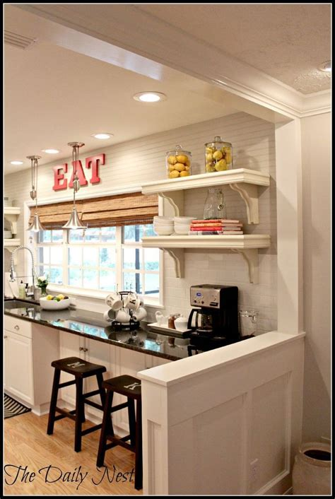 kitchen half wall ideas best 25 half wall kitchen ideas on pinterest