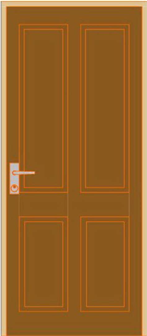 rumahku  gambar model pintu minimalis panel