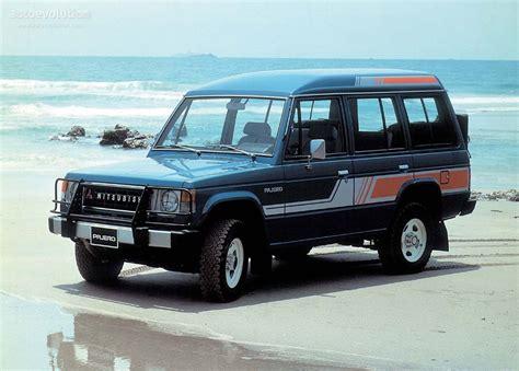 mitsubishi wagon 1990 mitsubishi pajero wagon specs 1986 1987 1988 1989