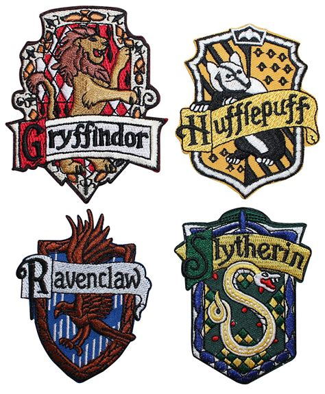 four houses of hogwarts the gallery for gt harry potter house logos