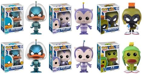 Funko Pop Animation Duck Dodgers Marvin The Martian 143 Vinyl Figure pop animation duck dodgers plastic and plush