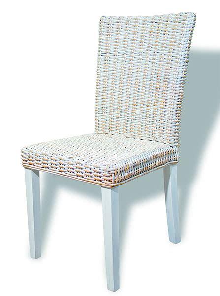 silla rattan en blanco decape blog de artesania  decoracion