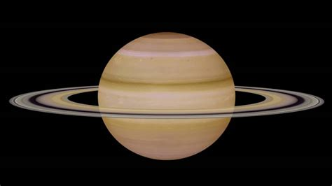 saturn rotation rotation of planet saturn